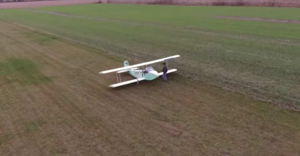 home made electric plane